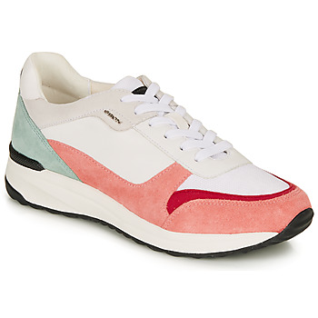 Chaussures Femme Baskets basses Geox AIRELL BLANC