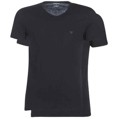 Vêtements Homme T-shirts manches courtes Emporio Armani CC722-111648-07320 Noir