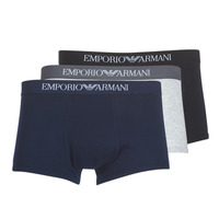 Vêtements Homme Boxers Emporio Armani CC722-111610-94235 Marine / Gris / Noir