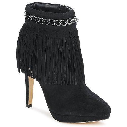 Chaussures Femme Bottines Bourne SANDY Noir