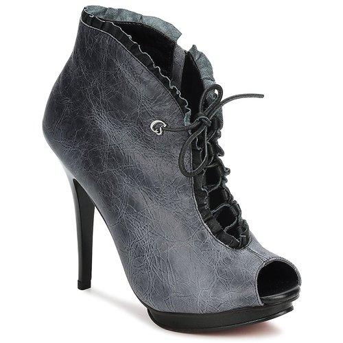 Chaussures Femme Low boots Carmen Steffens 6002043001 Noir / Gris