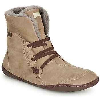 Chaussures Femme Boots Camper PEU CAMI Beige