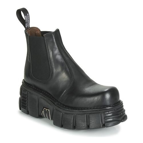 Chaussures Boots New Rock M-1554-C1 Noir