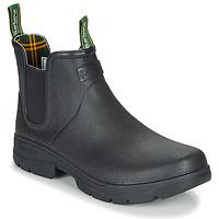 Chaussures Homme Bottes de pluie Barbour FURY CHELSEA Noir