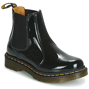 Chaussures Femme Boots Dr Martens 2976 PATENT LAMPER Noir