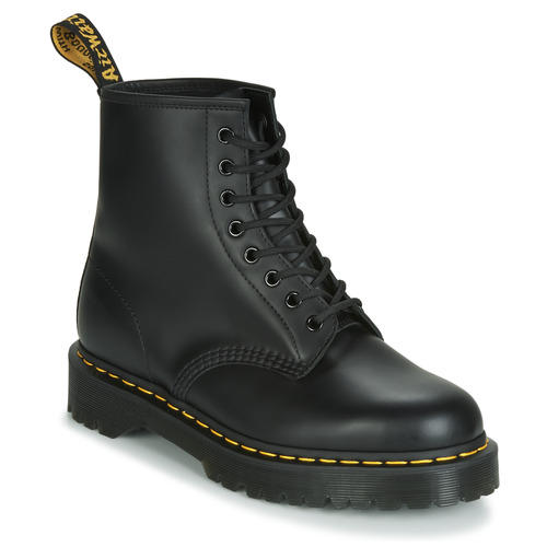 Chaussures Boots Dr Martens 1460 BEX SMOOTH Noir