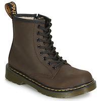 Chaussures Enfant Boots Dr Martens 1460 SERENA JUNIOR Marron