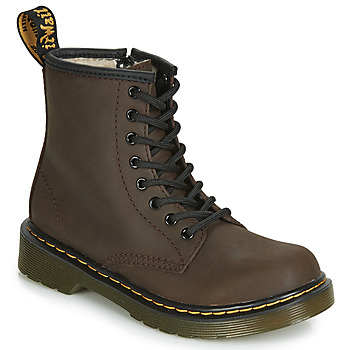 Chaussures Enfant Boots Dr Martens 1460 SERENA JUNIOR Marron