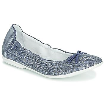 Chaussures Fille Ballerines / babies Ramdam KIKI Bleu