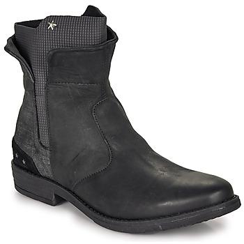 Chaussures Fille Boots Ikks PAMELA Noir