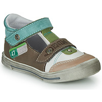 Chaussures Garçon Sandales et Nu-pieds GBB PEPINO Marron / Beige / Vert