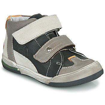 Chaussures Garçon Baskets montantes GBB PATRICK Gris