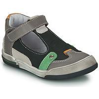 Chaussures Garçon Sandales et Nu-pieds GBB PERCEVAL Noir / Gris