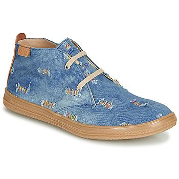 Chaussures Fille Baskets montantes Achile ANDREA Bleu