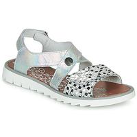 Chaussures Fille Sandales et Nu-pieds Achile HIKARI Argenté