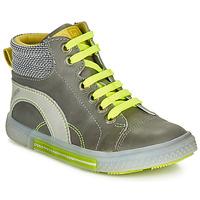 Chaussures Garçon Baskets montantes Catimini PAPYRUS Gris