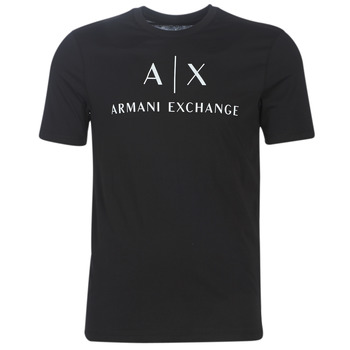 Vêtements Homme T-shirts manches courtes Armani Exchange 8NZTCJ-Z8H4Z-1200 Noir