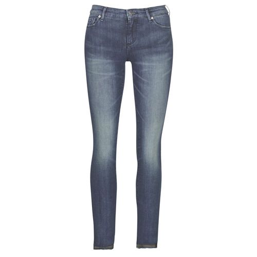 Vêtements Femme Jeans slim Armani Exchange 6GYJ25-Y2MKZ-1502 Bleu
