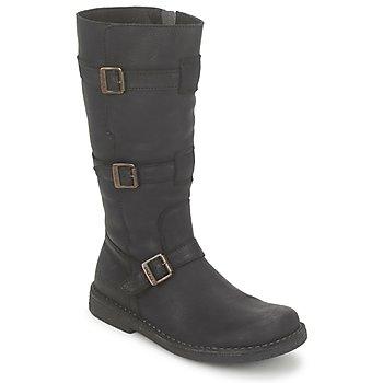 Chaussures Femme Bottes ville Kickers LOCKNESS Noir