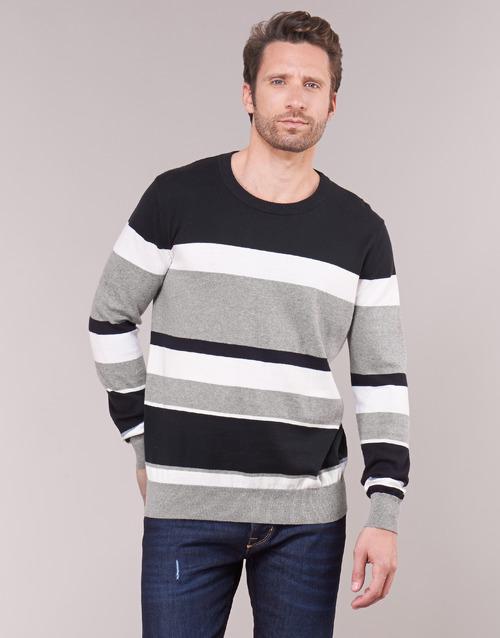 Vêtements Homme Pulls Casual Attitude LORISS Noir / Gris