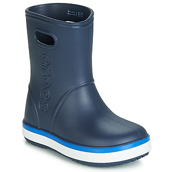 Chaussures Enfant Bottes de pluie Crocs CROCBAND RAIN BOOT K Marine
