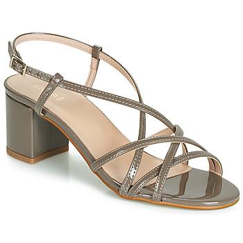 Chaussures Femme Sandales et Nu-pieds André CHIARA Taupe