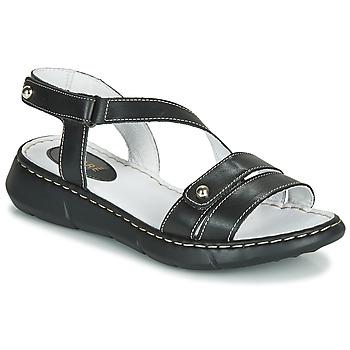 Chaussures Femme Mules André ALIX Noir