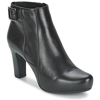 Chaussures Femme Low boots Unisa NAPUR noir