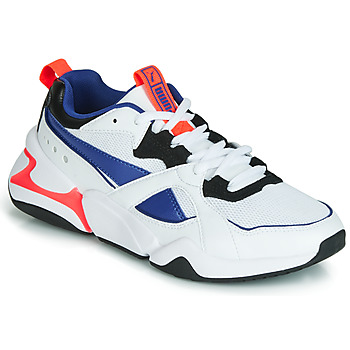 Chaussures Femme Baskets basses Puma NOVA 2 Blanc / Bleu