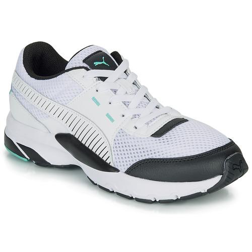 Chaussures Baskets basses Puma FUTURE RUNNER PREMIUM Blanc / Noir