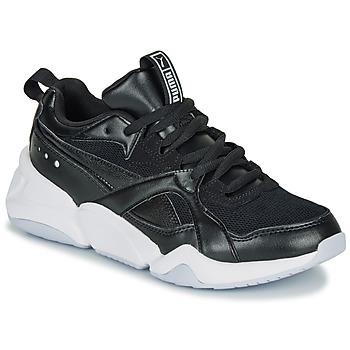 Chaussures Femme Baskets basses Puma NOVA 2. W Noir