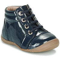 Chaussures Fille Boots Citrouille et Compagnie NICOLE.C VVN MARINE PAILLETTE DTX/KEZIA