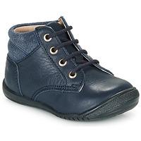 Chaussures Garçon Boots Citrouille et Compagnie RATON.C VTC MARINE DTX/RAIZA