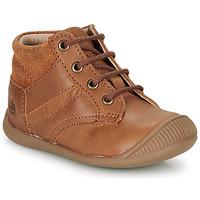 Chaussures Garçon Boots Citrouille et Compagnie RATON.C VTC MARRON DTX/RAIZA
