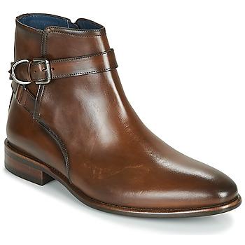 Chaussures Homme Boots Brett & Sons ROBERTO Cognac