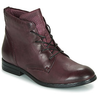 Chaussures Femme Boots Dream in Green LAMPEDI Bordeaux