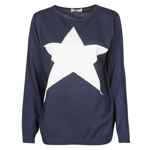 Vêtements Femme Pulls Moony Mood LATOO Marine