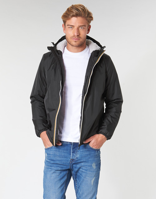Vêtements Homme Blousons K-Way LE VRAI 3.0 CLAUDE ORSETTO Noir