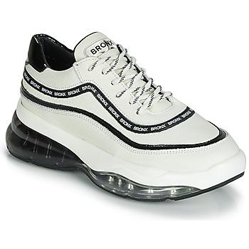 Chaussures Femme Baskets basses Bronx BUBBLY Blanc / Noir