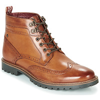 Chaussures Homme Boots Base London BOWER Cognac