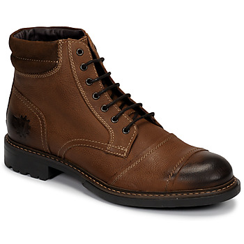 Chaussures Homme Boots Base London REPTON Cognac