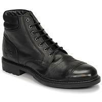 Chaussures Homme Boots Base London REPTON Noir