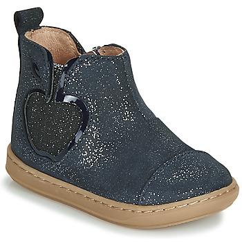 Chaussures Fille Boots Shoo Pom BOUBA NEW APPLE Marine
