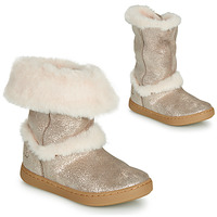 Chaussures Fille Boots Shoo Pom PLAY MOOT Argent