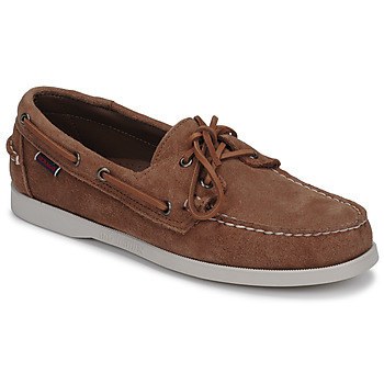 Chaussures Homme Chaussures bateau Sebago DOCKSIDES PORTLAND SUEDE Camel