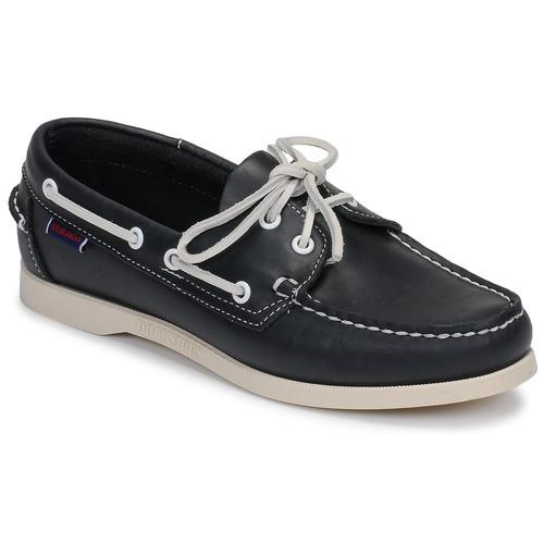 Chaussures Femme Chaussures bateau Sebago DOCKSIDES PORTLAND W Bleu