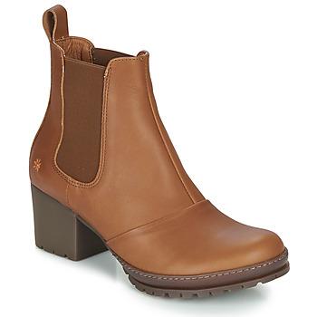 Chaussures Femme Bottines Art CAMDEN Cognac