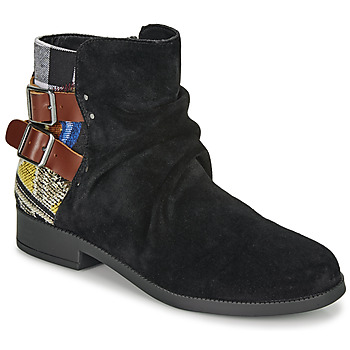 Chaussures Femme Boots Desigual OTTAWA PATCH Noir