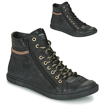 Chaussures Femme Baskets montantes Pataugas BONO Noir
