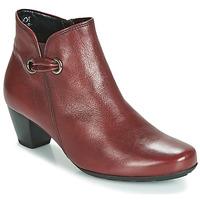 Chaussures Femme Bottines Gabor 3282758 Rouge